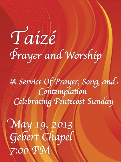 Taize Pentecost