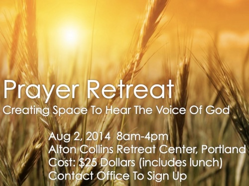Prayer Retreat 2014